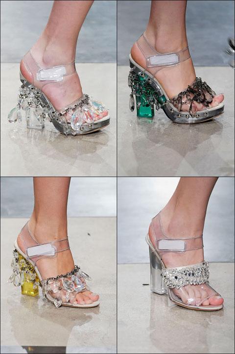 Prada chandelier shoes