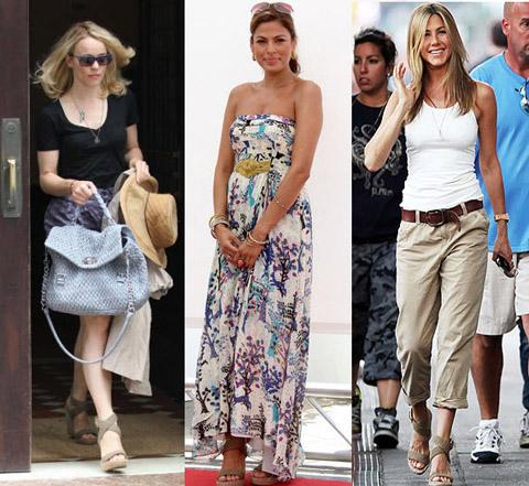 Rachel McAdams Eva Mendes Jennifer Aniston