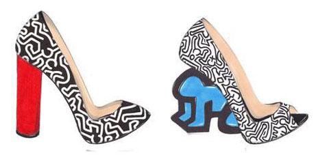 Nicholas Kirkwood Keith Haring