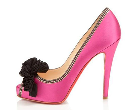 Louboutin Peace of Shoe pink