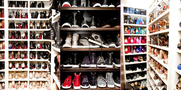 My Fashion World Shoe Rack Of Khloe Kardashian