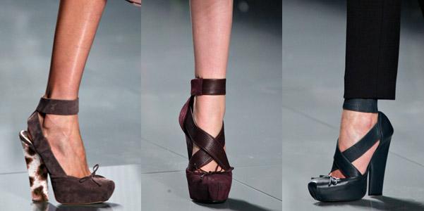 new style a7ded c0221 Catwalk: scarpe Christian Dior ai 2012-13