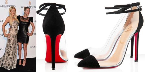 scarpe nere louboutin