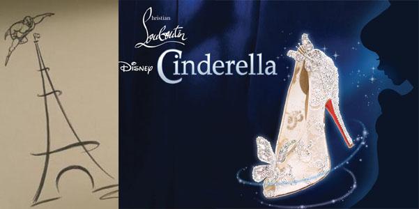 Louboutin personaggio Cinderella