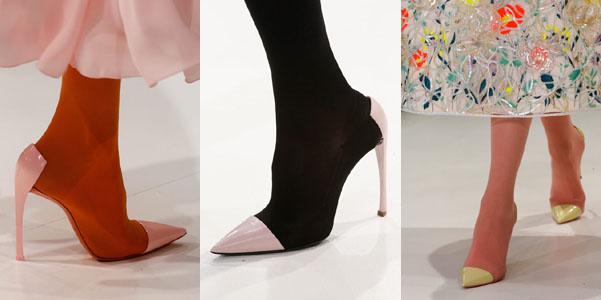 reputable site 77cd9 f790b Le scarpe Dior Couture Spring 2013