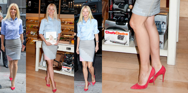 Gwyneth Paltrow Gianvito Rossi