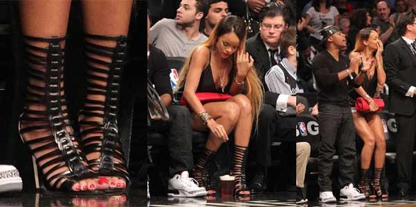 Rihanna Brian Atwood Isabeli