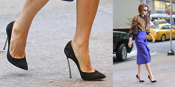 Vic Beckham in Casadei