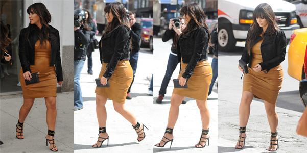 Kim Kardashian sandali Gucci