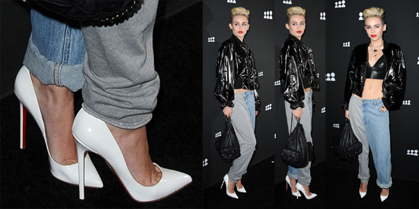 Miley Cyrus Louboutin Pigalle