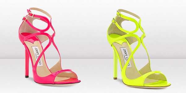 Jimmy Choo fluo