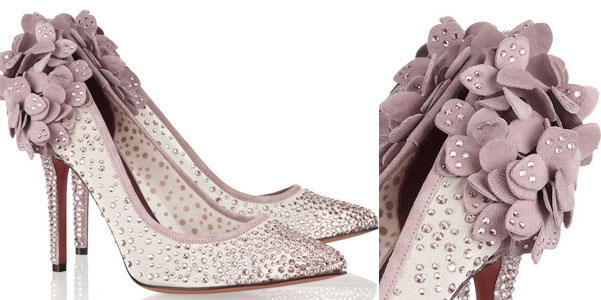 Bruno Magli Swarovski pumps
