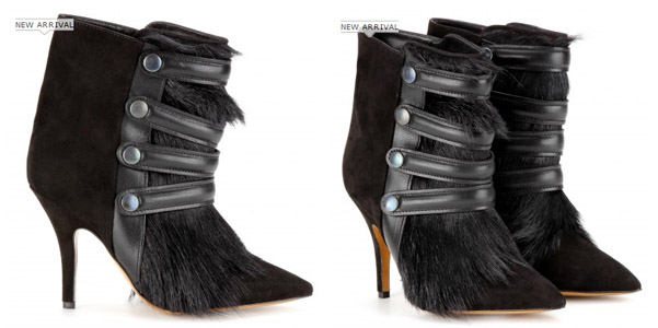 Isabel Marant fur booties