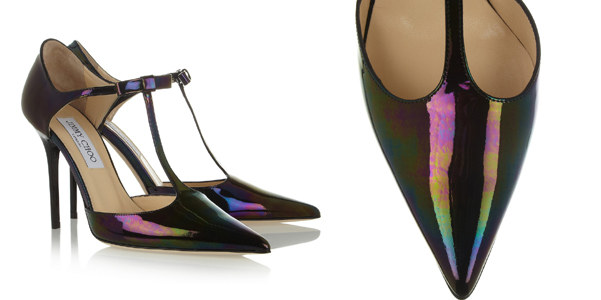 Jimmy Choo tbar iridescente