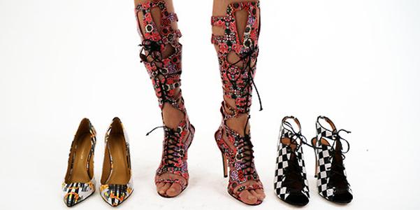 Rebecca Minkoff scarpe pe 2014