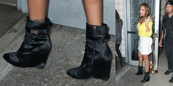 LaLa Anthony Givenchy boots