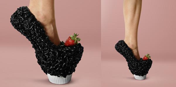 Safa Sahin cupcake shoes