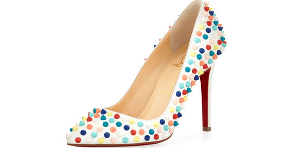 Louboutin Pigalle borchie colorate