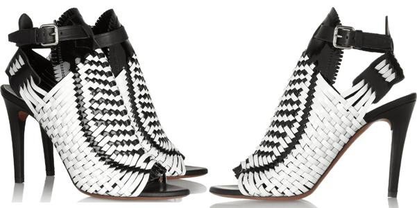 Proenza Schouler sandalo intreccio