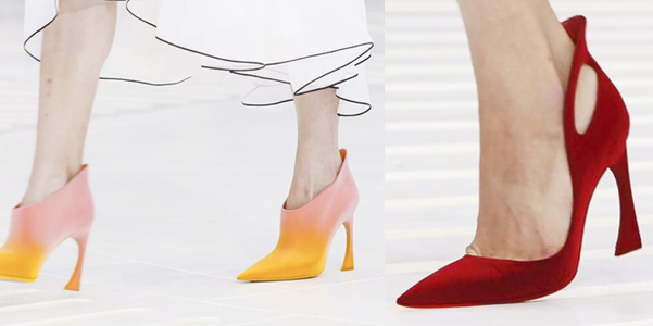 Scarpe Dior Couture Fall 2014