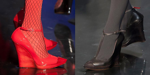 Scarpe JPG couture fall 2014