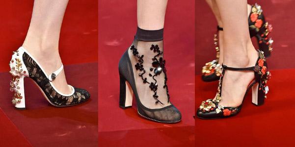 scarpe Dolce Gabbana pe 2015