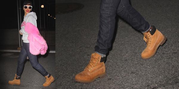 Rihanna-Timberland-Classic-Boots