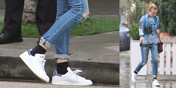 Diane-Kruger-Adidas-Stan-Smith-Sneakers