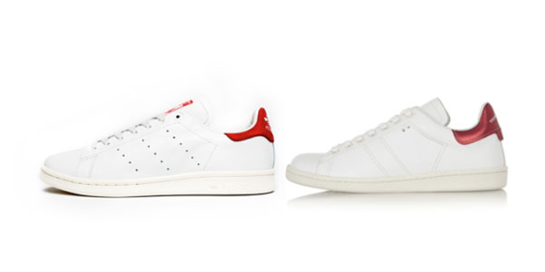 adidas stan smith rosse e bianche