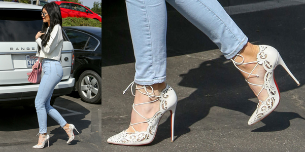 Kylie Jenner in Impera di Louboutin