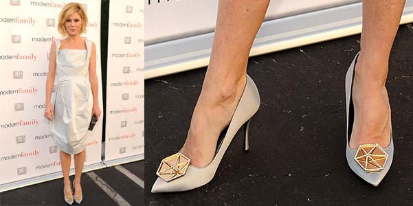 Julie Bowen indossa Eden di Nicholas Kirkwood