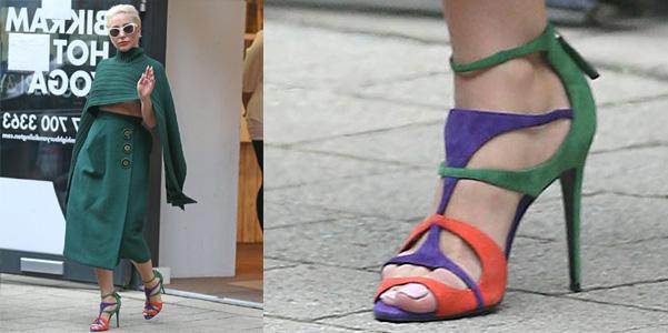 lady gaga sandali pierre hardy