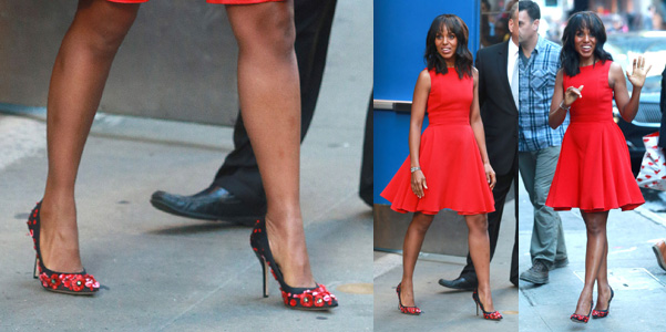 Kerry Washington Paul Andrew