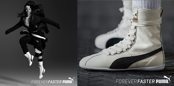 rihanna puma sneakers eskiva
