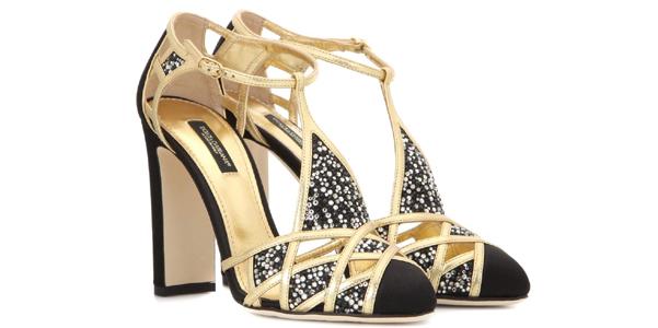 Dolce e Gabbana tra cristalli e oro
