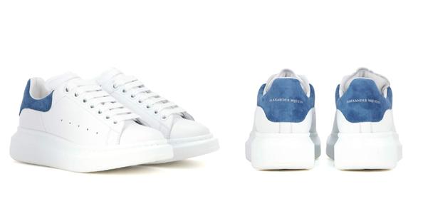 Sneakers oversize di Alexander McQueen