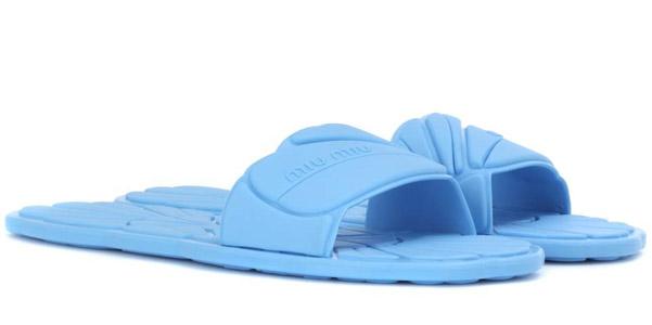 Scarpe miu miu oh my shoes - Ciabatte da piscina ...