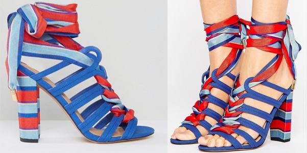 I sandali dell'estate sono stringati: l'idea di Asos