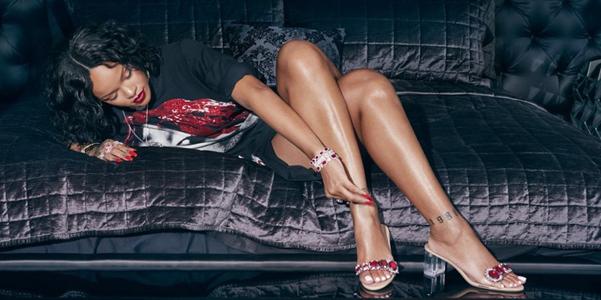 Rihanna per Manolo Blahnik, la nuova linea So Stoned