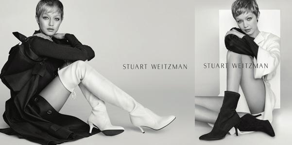 Gigi Hadid per Stuart Weitzman