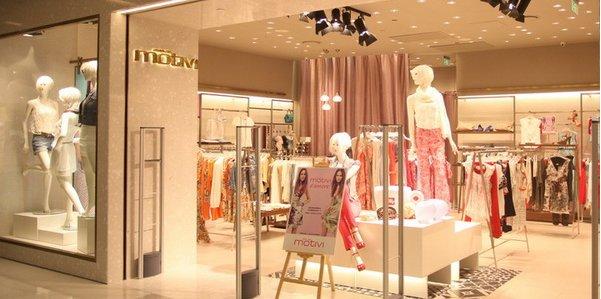 Nuovo flagship store Motivi a Shanghai