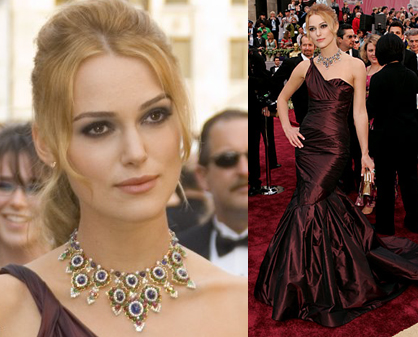 keira knightley red dress. Keira Knightley - dark plum