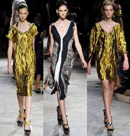 مدل لباس آستین پفی
