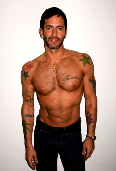 Speaking of designers, apart from Marc Jacobs (I hate his tattoos),