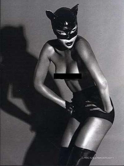 Naomi Campbell nei panni di Catwoman