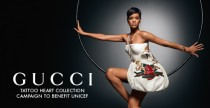 Gucci per Unicef 2008. Il lancio mondiale della quarta campagna con Rihanna