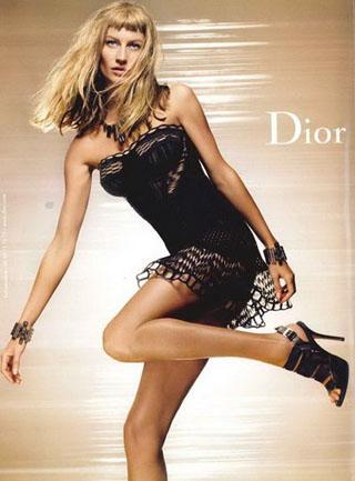 Gisele Bundchen Dior