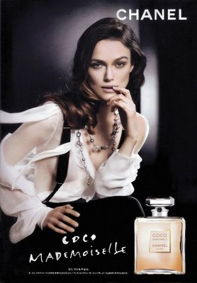 Keira Knigtley Chanel Coco Mademoiselle