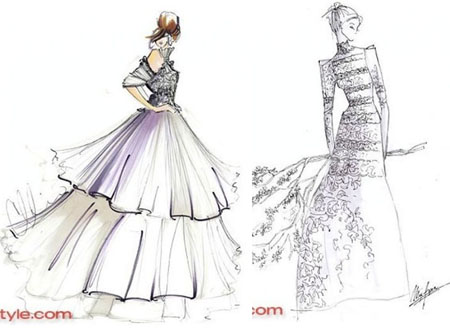 Twilight l abito da sposa di bella immaginato dagli - Primo letto sposa ...