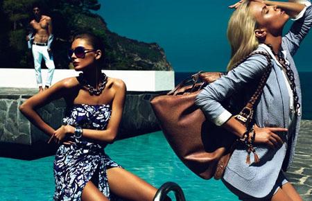 Gucci Cruise 2010 ad campaign